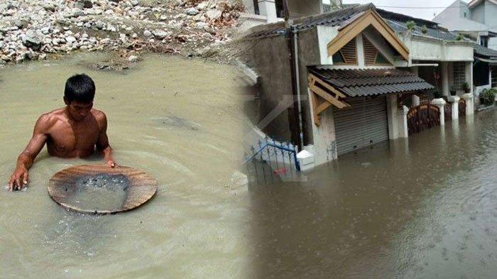 Rejeki Nomplok Korban Banjir Saat Mencuci Piring Makan Siang, Niat Iseng Malah Muncul Butiran Emas