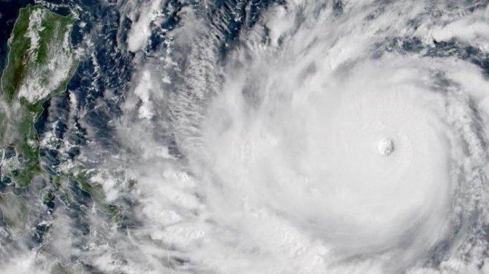 Siklon Tropis Choi-Wan Terdeteksi BMKG, Ini Dampaknya pada Jawa Timur