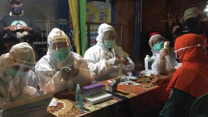 17 Pedagang Asal Tuban Reaktif Setelah Rapid Test di Pasar Bojonegoro, Gugus Tugas Tunggu Hasil Swab