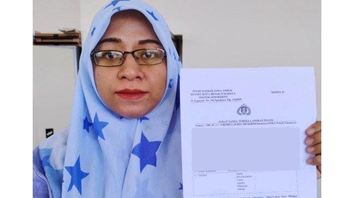 Mau ke Apotek, Emak-Emak di Surabaya ini Kemalingan, Motornya Dicuri di Depan Rumahnya Sendiri