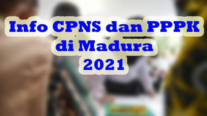 CATAT! Syarat Tes SKD CPNS dan PPPK 2021 di Kabupaten Sampang: Peserta Wajib Bawa Hasil Swab Antigen
