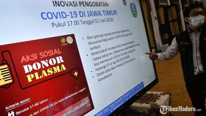Menteri Kesehatan Sebut Plasma Darah Pasien Sembuh Covid-19 Bisa Bantu Penanganan Pasien Corona
