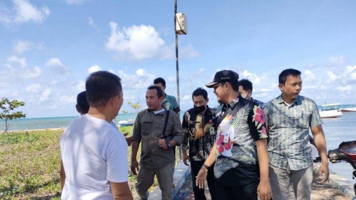 Kepala Desa Masakambing Kabupaten Sumenep Ketahuan Bolos, Camat Masalembu Berikan Teguran