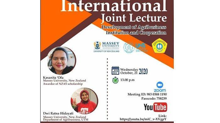Universitas Trunojoyo, UNS Solo dan Massey University New Zealand Gelar International Joint Lecture