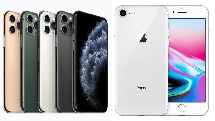 TERKINI, Harga HP iPhone di Awal Agustus 2020, iPhone 12, iPhone 7, iPhone 8 hingga Iphone 11 Pro