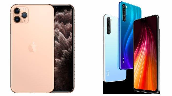 Deretan Harga Rekomendasi HP Mulai dari OPPO, Vivo, Samsung, Xiaomi Hingga iPhone, Cek Harganya