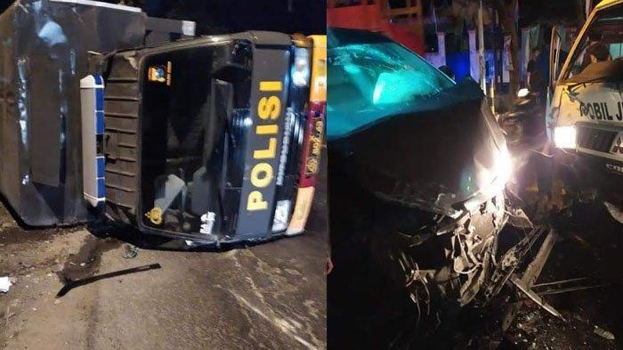Iring-iringan Mobil Polisi Jember Kecelakaan Beruntun Setelah Antar Jenazah Covid-19 ke Karangbayat