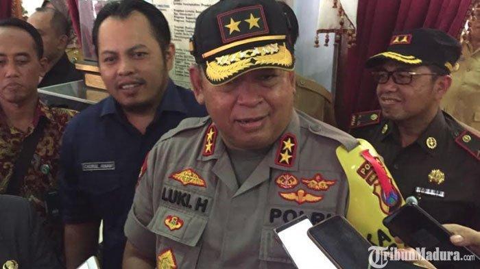 Kapolda Jatim Pastikan Blitar Tidak Masuk Wilayah Rawan saat Pemilu 2019 di Jawa Timur