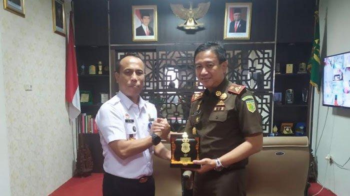 Kantor Imigrasi Kelas 1 Khusus TPI Surabaya Jalin Sinergi,Kanim Berkunjung ke Polrestabes Surabaya