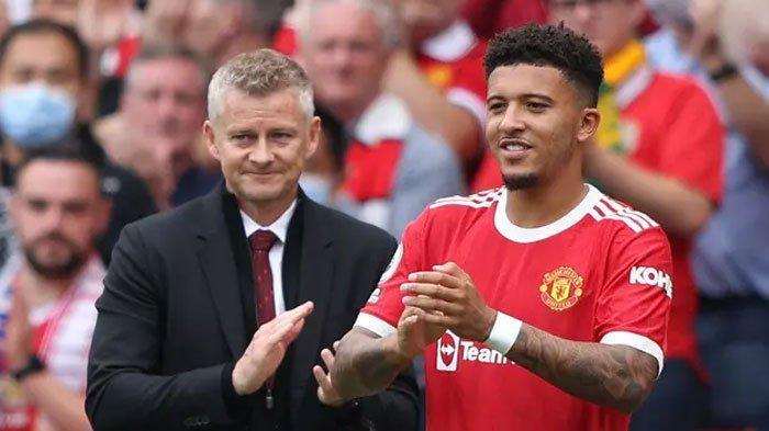 Jadon Sancho Masih Redup di Manchester United, Ole Dituding Jadi Biang Kerok, ini Alasannya