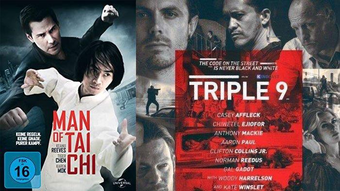 Jadwal Acara TV Trans TV RCTI GTV ANTV Net TV Jumat 8 Mei 2020, Ada Film Triple 9 dan Man of Tai Chi