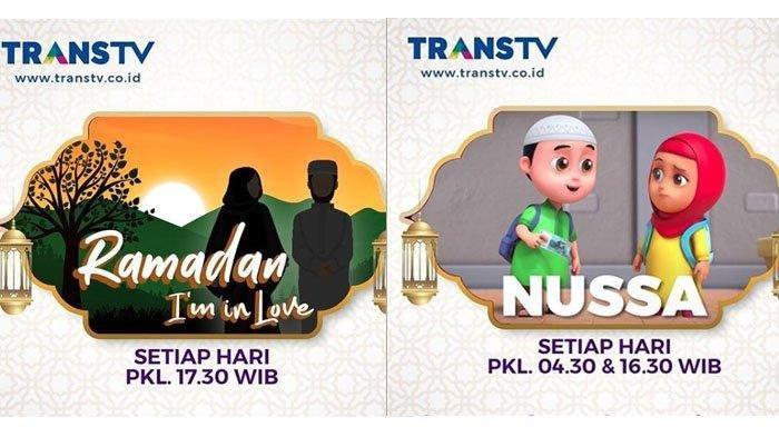 Jadwal Acara TV Trans TV RCTI SCTV GTV Indosiar Sabtu 25 April 2020, Ada Kultum Ramadan I'm In Love