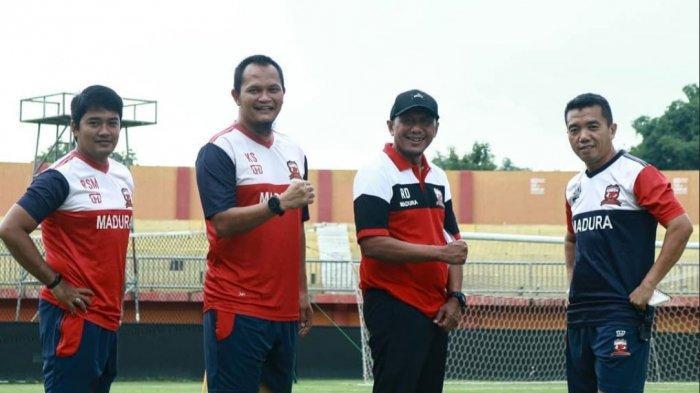 Rahmad Darmawan hanya Beri Waktu Libur 3 Hari, Pemain Madura United Kembali Berlatih Pekan Depan