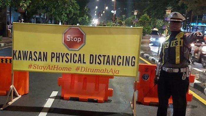 Maksimalkan Protokol Covid-19, Polda Jatim Terapkan Physical Distancing di 307 Pemukiman Jawa Timur