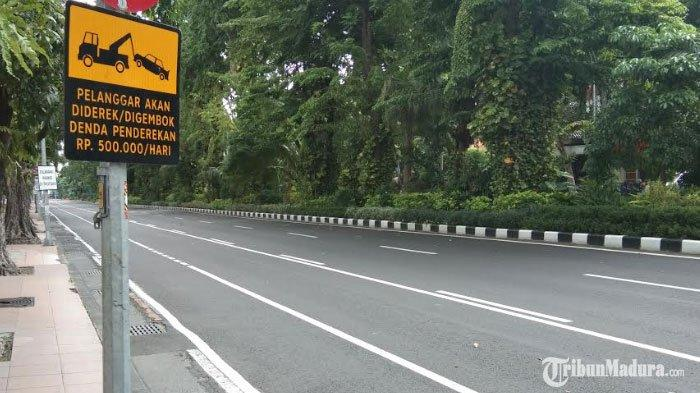 Jalan Darmo danJalan Tunjungan Surabaya Ditutup Dua Pekan, Layanan Bank di Lokasi Tetap Buka