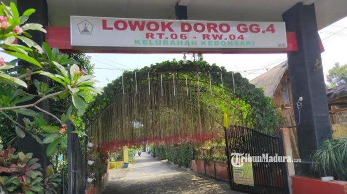 Jalan Lowokdoro, Kecamatan Sukun, Kota Malang, Senin (24/5/2021).