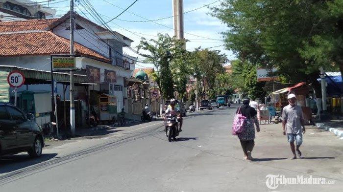 Jalan di Sekitar Monumen Trunojoyo Sampang Diusulkan Dijadikan Satu Arah, Dilakukan Penataan PKL