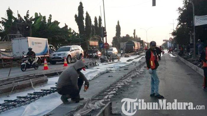AWAS Selama 5 Bulan Jalan Nasional Surabaya-Lamongan Bakal Macet Parah, Pilih 4 Jalur Alternatif ini