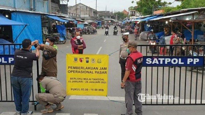 Jam Operasional Pasar Tradisional di Kota Mojokerto Diganti, Tutup Pukul 20.00 WIB Selama PPKM