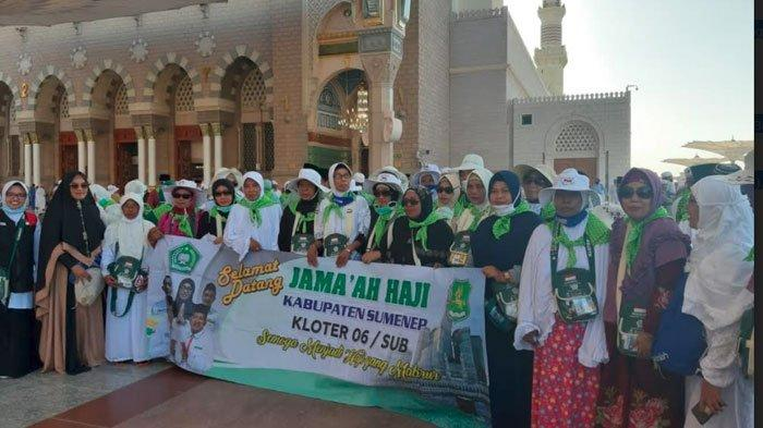 Calon Jemaah Haji Sumenep Kini Akan Melaksanakan Ibadah Arbain, Kondisi Jemaah dalam Keadaan Sehat