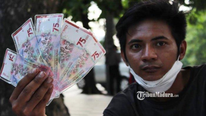 Uang Baru Pecahan Rp 75 Ribu Banyak Diburu Masyarakat, Stok di Jasa Penukaran Uang sampai Kehabisan