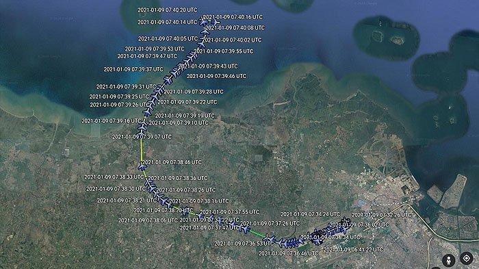 Kesaksian Warga di Detik-detik Sriwijaya Air SJ182 Jatuh, Dengar Dentuman Keras, Kaca Rumah Bergetar
