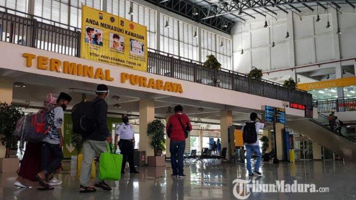 Layanan di Terminal Purabaya Dibuka saat Masa Larangan Mudik Lebaran, Tapi Tak Ada Bus Beroperasi