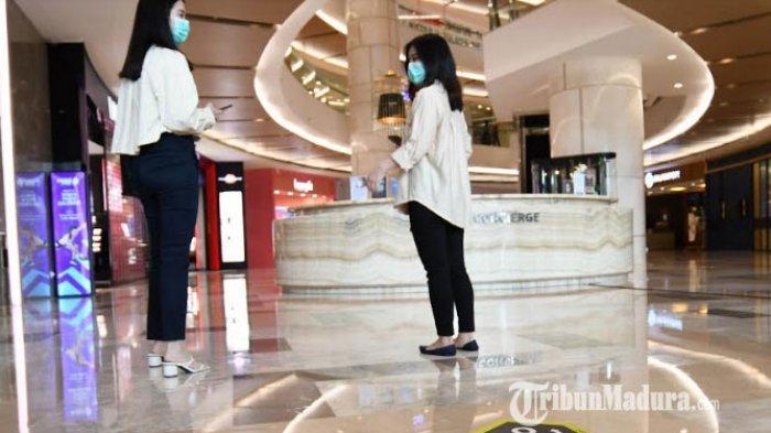 Sambut New Normal, Tunjungan Plaza Surabaya Terapkan One Way System Bagi Para Pengunjung Mal