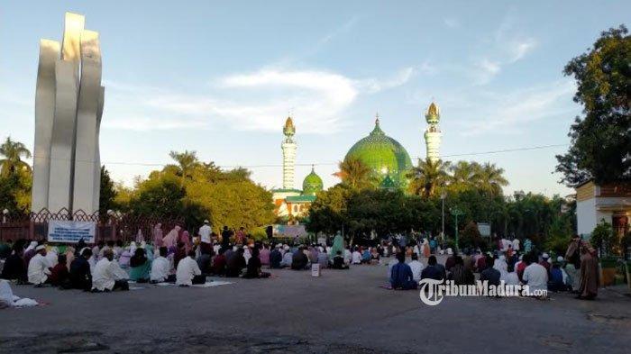 Masjid Agung Asy Syuhada Pamekasan Gelar Salat Ied, Simak Hal-Hal yang Wajib Perhatikan Para Jemaah
