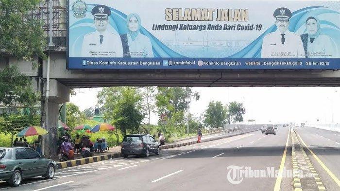 Akses Menuju Jembatan Suramadu Jadi Atensi Patroli Gabungan dan Pemkab Bangkalan di Malam Tahun Baru