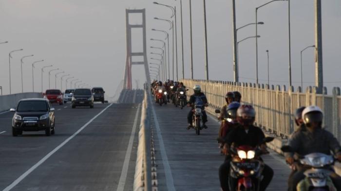 Kabar Jembatan Suramadu Ditutup karena Virus Corona Hoax, WargaTelanjur Urungkan Niat Keluar Madura