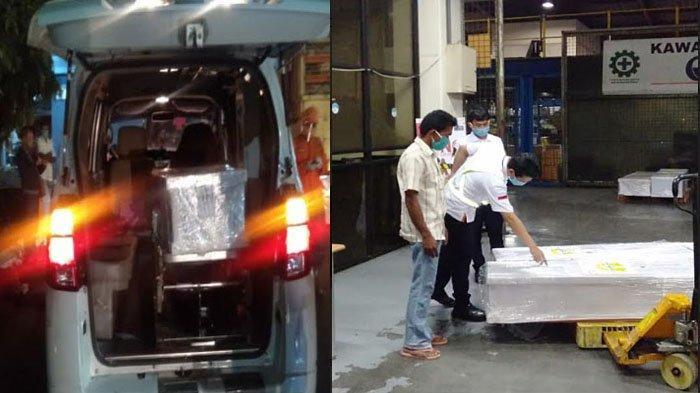 Dua Jenazah TKI Malaysia Tiba di Posko Covid-19 Sampang, Dipastikan Meninggal Bukan karena Corona