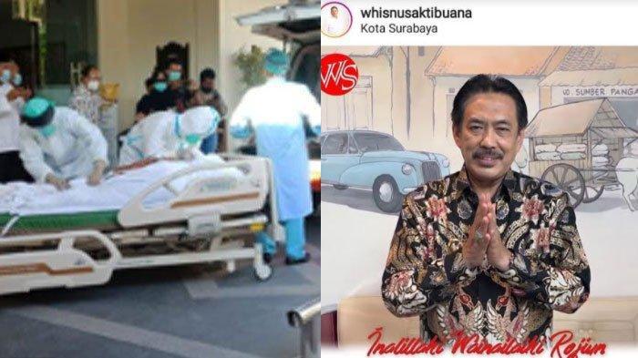 Plt Bupati SidoarjoCak Nur Meninggal Covid-19,Wakil Wali Kota Surabaya Whisnu Sakti Ungkap Duka