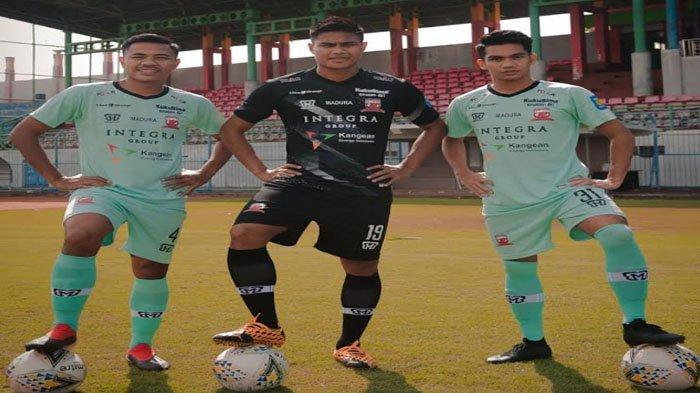Makna Filosofi Jersey ke-3 Madura United, Cocok ke Milenial, Cerminkan Setinggi Langit 'Jadi Juara'