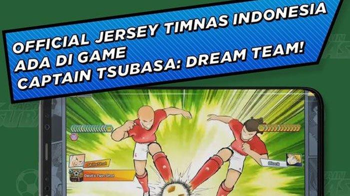 Game Captain Tsubasa Bisa Pakai Jersey Timnas Indonesia, Simak Cara Mendapatkan Jerseynya