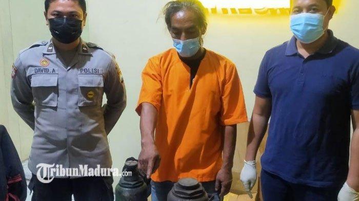 Demi Sawer Perempuan Penjaga Warung, Pria ini Nekat Curi Dongkrak di Bengkel, Korban Teriak: Maling!
