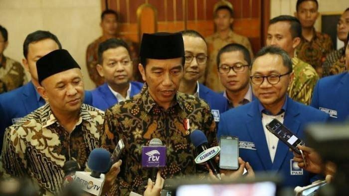 Ketua Umum PAN Zulkifli Hasan Bertemu dengan Jokowi, PAN Jatim Ungkap Posisi PAN di Koalisi Prabowo