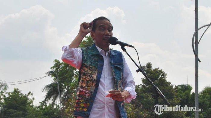 Sindir Rival, Jokowi : Kalau Jan Ethes Dipanggil Bawaslu, Saya Suruh Berangkat Sendiri