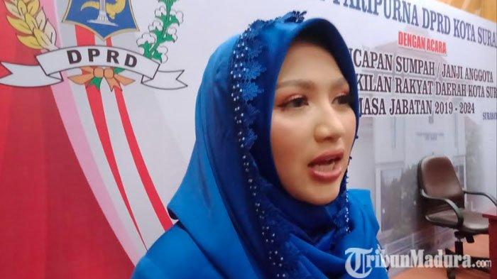 Anggota DPRD Kota Surabaya Termuda Siap Perjuangkan Suara Kaum Milenial dan Perempuan Kota Pahlawan