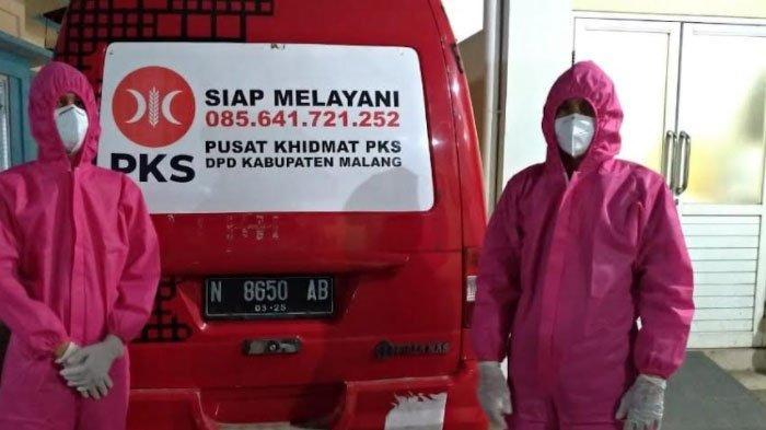 Cerita Kader PKS Jadi Sopir Ambulans Khusus Pasien Covid, Emban Tugas Kemanusiaan yang Penuh Risiko