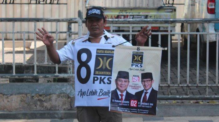 Gelar Aksi Turun Ke Jalan, DPD PKS Tuban Kampanyekan Paslon Prabowo-Sandi