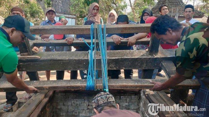 Sumur Mbah Asyari Tuban TakSurut saat Musim Kemarau, DipercayaBisa Sembuhkan Berbagai Penyakit