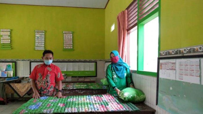 Ruang Kelas SDN 1 Kendalbulur Tulungagung Disiapkan Jadi Ruang Isolasi untuk TKI dan Perantau