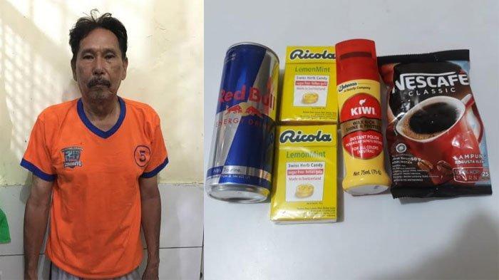 Tingkah Kakek 61 Tahun di Minimarket Surabaya Sebelum Nyuri, Pura-pura Jadi Pembeli & Lihat Barang