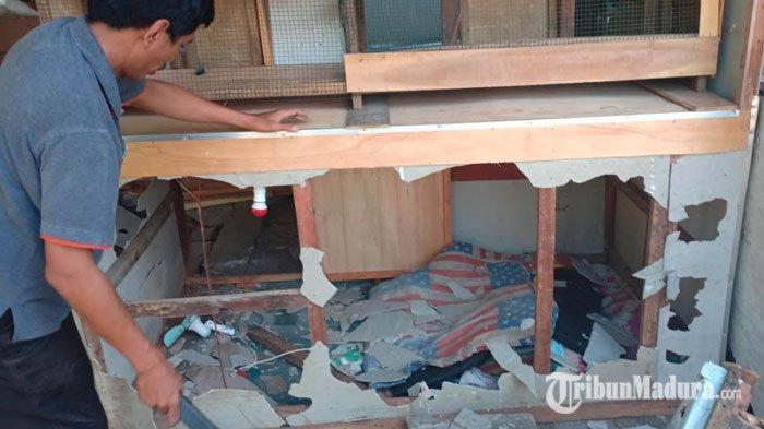 Puluhan Warung Kopi di Pasar Muneng Dibongkar, Petugas Satpol PP Temukan 'Kamar Triplek' Tersembunyi