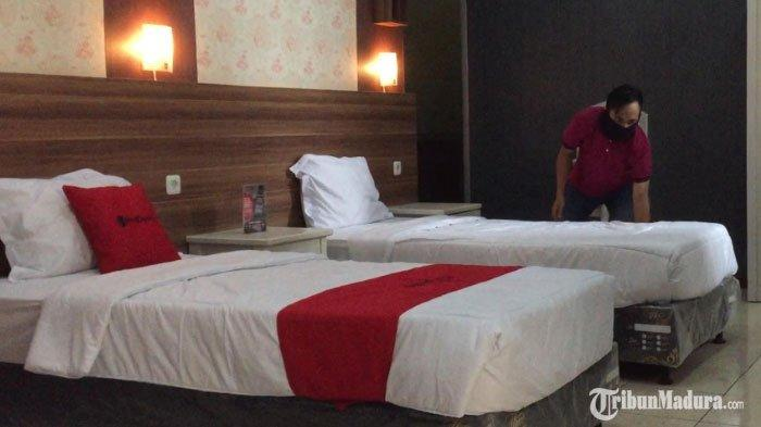 SMKN 4 Malang Sulap Ruang Kelas Jadi Kamar Hotel Berbintang, Ada TV hingga Peralatan Penunjang Tamu