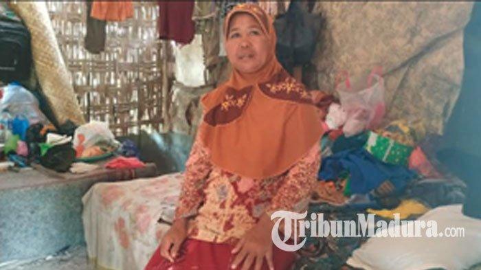Tinggal di Gubuk Reyot, Nenek Warga Pamekasan ini Mengaku Belum Pernah Tersentuh Bantuan PKH