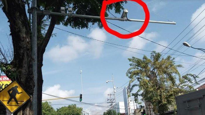 Kamera Tilang Elektronik Sudah Dipasang di Simpang Empat Tamanan Tulungagung, Uji Coba Minggu Ini
