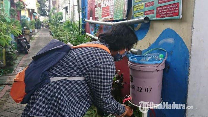 Potret Kampung Pulosari Surabaya, Tertib Protokol Pencegahan Corona dan Bentuk Tim Satgas Covid-19