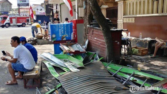 Dikira Aksi Sabotase, Ledakan di DekatGedung DPRD Jember Berasal dari Gas Elpiji yang Meledak